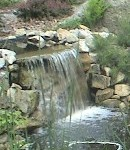 Waterfall very small1 130x150 Installing Pond Pumps and Filters